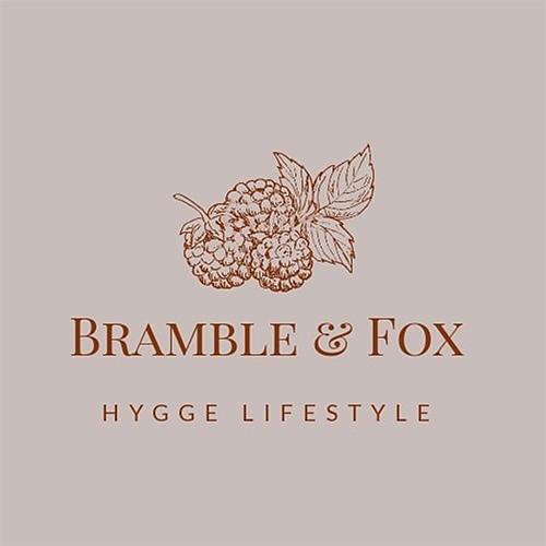 logo of bramble and fox hygge shop