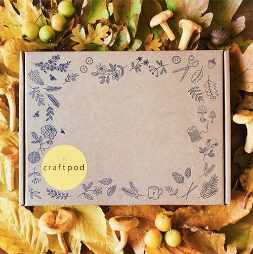 autumn crafting box
