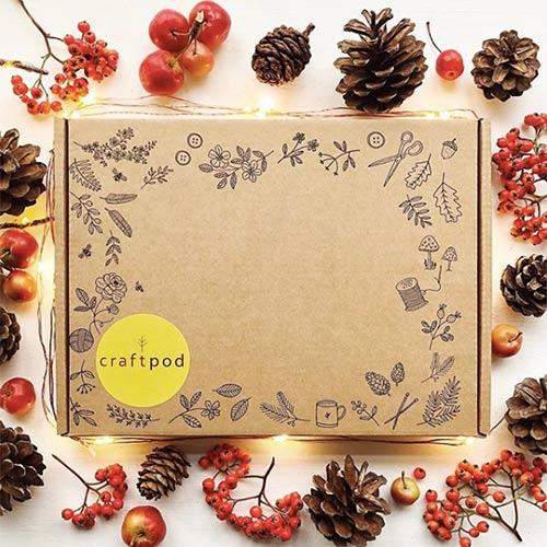 winter crafting box