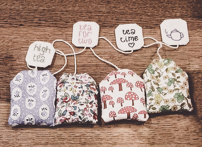 handmade toy teabags