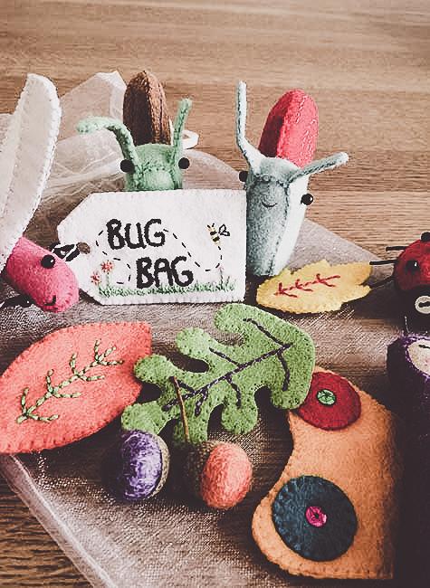 handmade felt toys