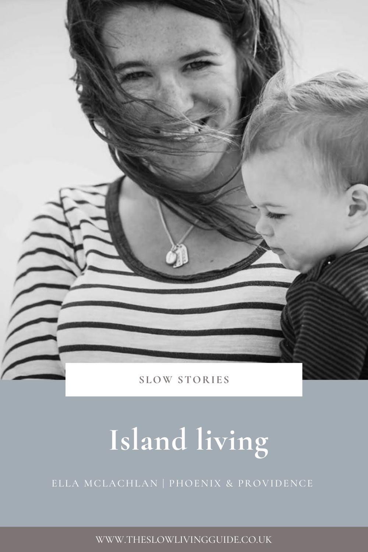 Island living - ella mclachlan - pin