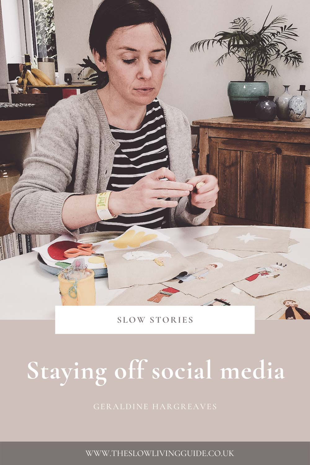 Staying off social media - Geraldine Hargreaves - pin