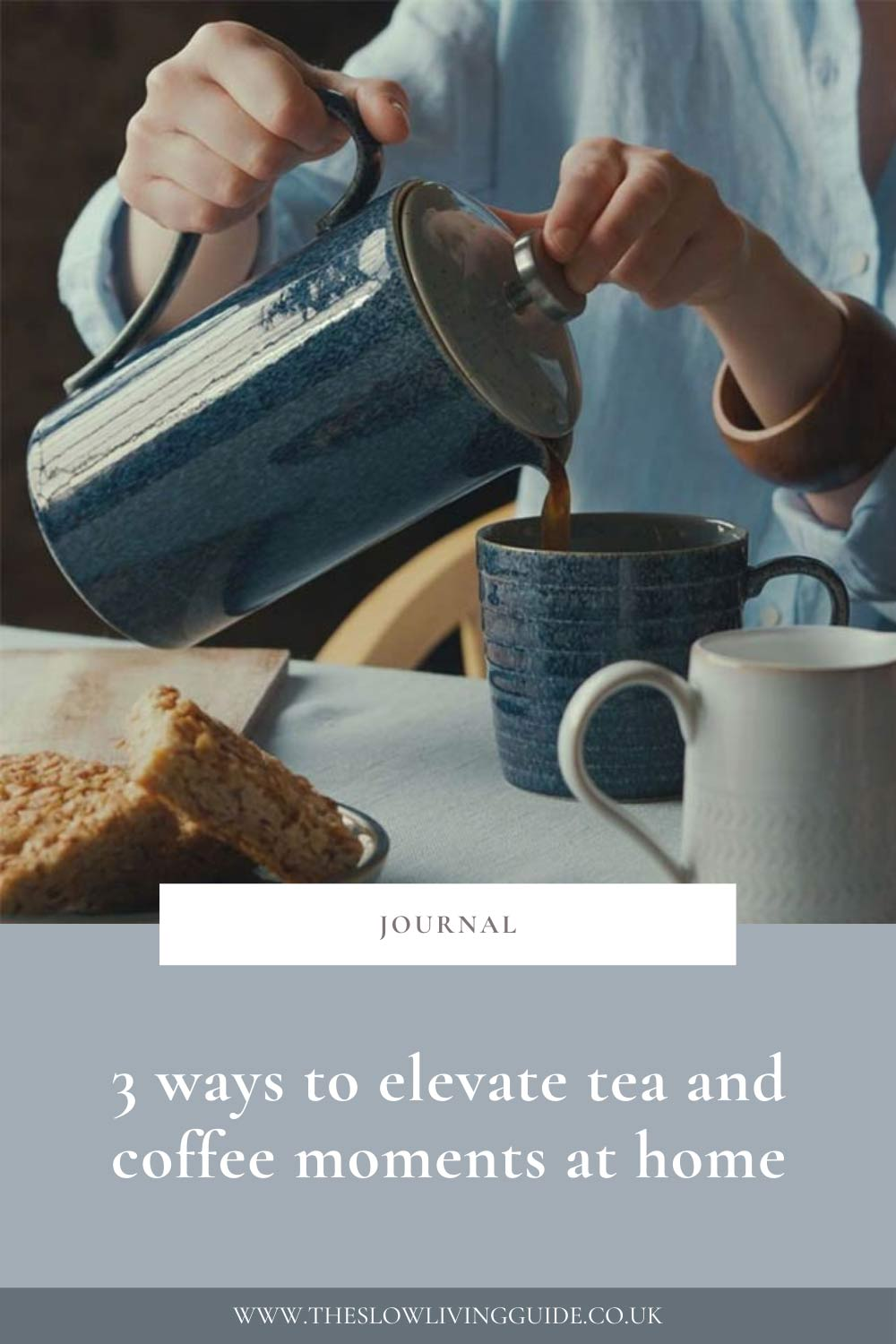 3 ways to elevate tea and coffee moments at home pin image