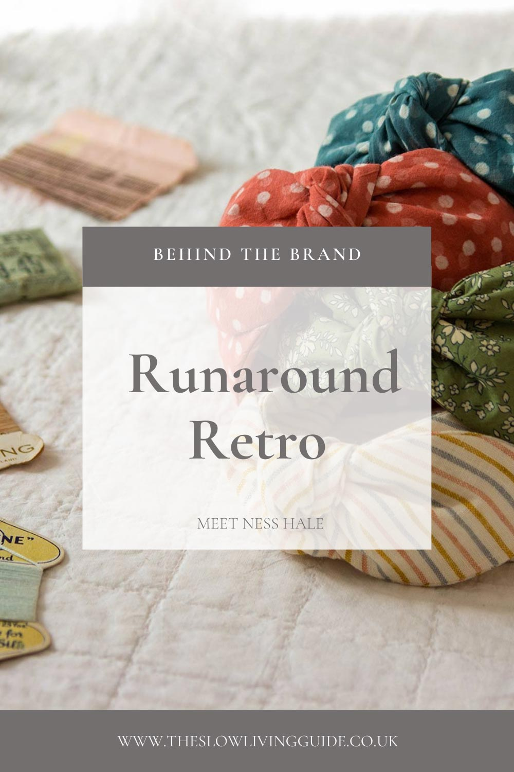 pin image for interview with runaround retro
