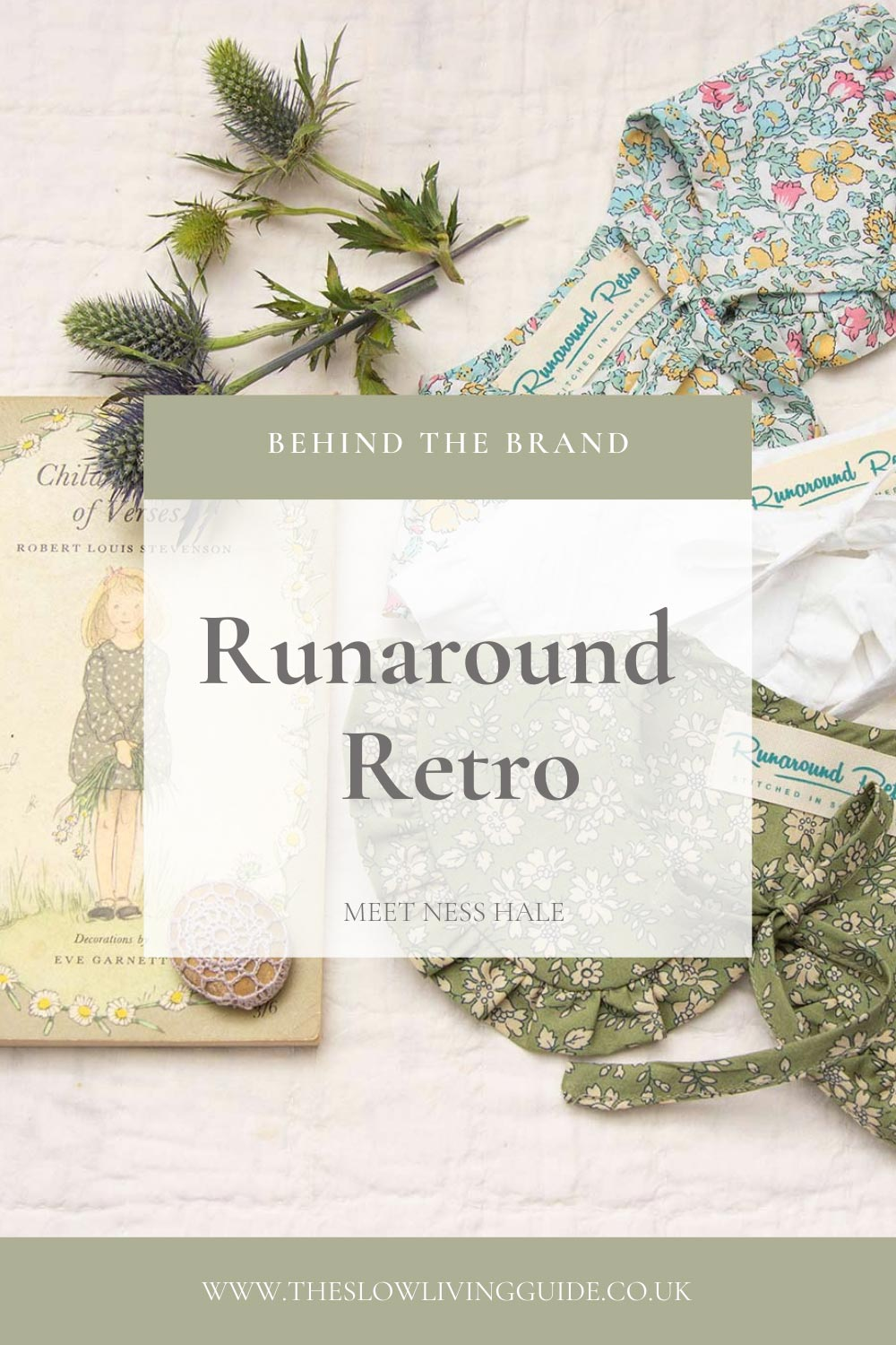 runaround retro interview pin image